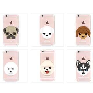 🚚 Cute Puppy iPhone/Samsung Case (Design 1-6)