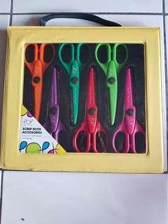 """6 pcs 6.5"""" Craft Scissors"""