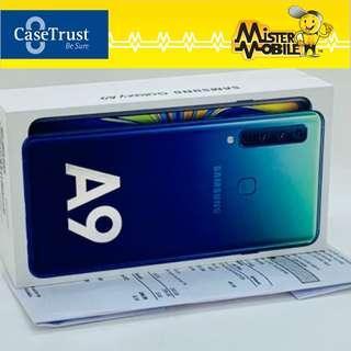🚚 Samsung Galaxy A9 2018 128gb Lemonade Blue (Pre Owned)