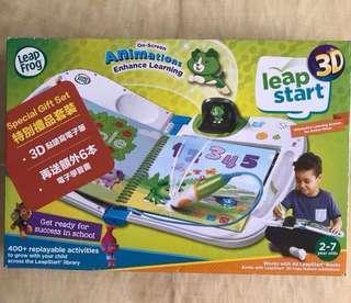 Leap Frog 3D Leapstart 點讀學習書連6本書