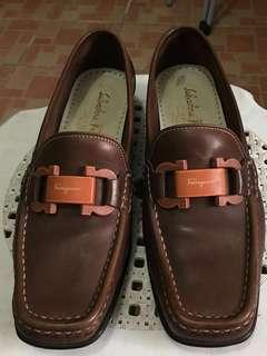 Salvatore Ferragamo Sport Loafers Brown