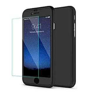 FULL HARDCASE 360 FOR IPHONE 6 / 6S FREE TEMPERED GLASS