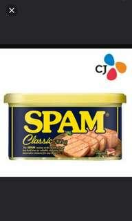 ☆SPAM classic Luncheon Meat 200g ☆ No. 1 Brand In Korea