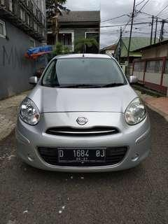 Nissan march matic 2011 silver