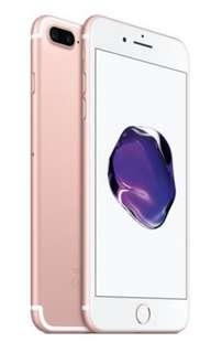 Rose Gold iPhone 7 Plus 128gb (PM FOR FAST DEAL)