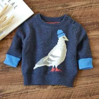 🚚 baby GAP 肩釦針織毛衣 針織衫