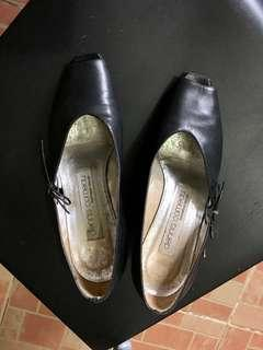 Dennis Comeau Leather Shoes Black