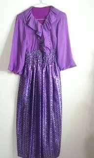 Dress model Hanbok Korea Purple
