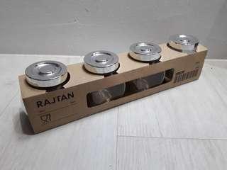 Ikea RAJTAN Spice Jar Set