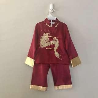 CNY costume Boy 4-5yo child chinese new year