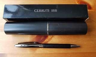 (60% off) Classic - Cerruti 1881 Pen - leather ball point (40折) 圓珠筆