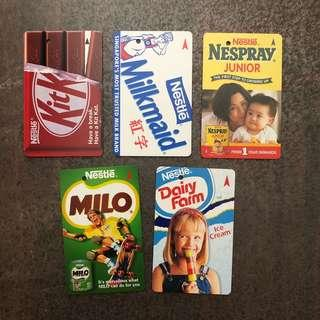 MRT Single Trip Nestle Translink Card (Rare)