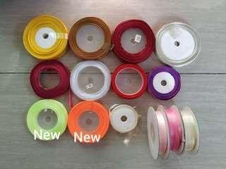 14 Assorted Rolls of Ribbons