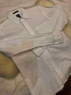GAP Fitted White Shirt