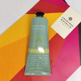 Authentic Brand New Crabtree & Evelyn London Pear & Pink Magnolia Hand Therapy #CNY888