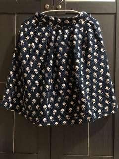 Skirt flowery vintage