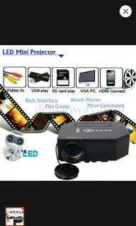 1200lumens HD 1080P home cinema,3D HDMI USB video game led LCD
