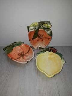 3 Pieces Fruit Shaped Bowl (Small)