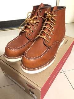 🚚 過年出清!現貨免等~Red wing Moc 875 男靴盒裝正品出售