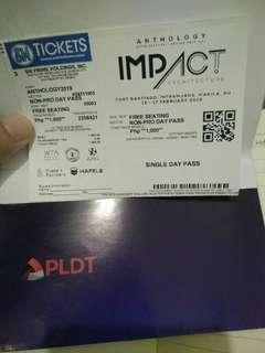 Impact Architecture Anthology ticket