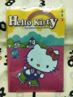 Hello Kitty 三層小型資料夾