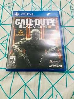 Call of Duty: Black Ops 3 for PS4.