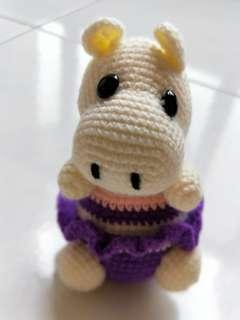 Hippo (Knitted)