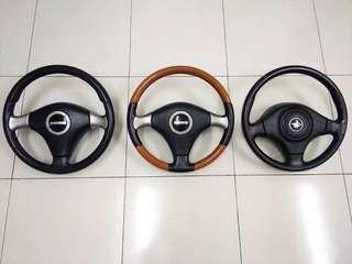 Steering Momo & Logo D