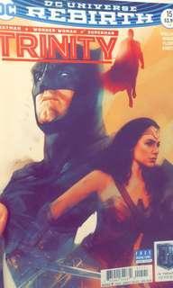 dc美漫 trinity justice league 正義聯盟電影限定封面漫畫