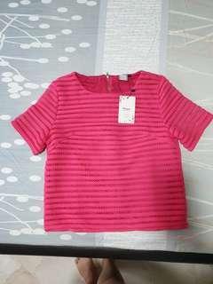[CLEARANCE] BN Purpur Pink Top