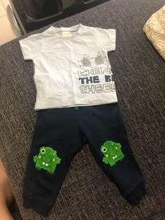 Boy shirt + pant