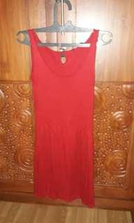 Simplicity Red Dress