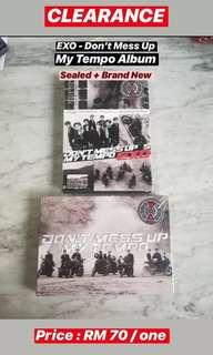 [CLEARANCE] EXO 5th Mini Album - ' Don't Mess Up My Tempo '