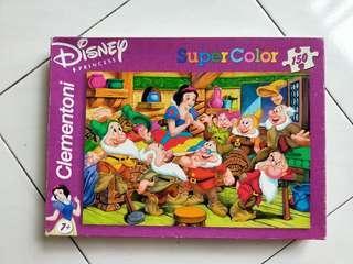 Snow white puzzle