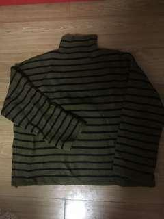 Border sweater fm Korea (new)