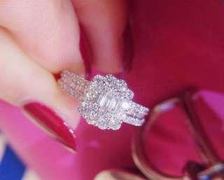 年終減價!一卡💎18k金鑽石戒指!