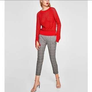 Zara Checkered Pants