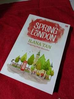 Novel Spring in london
