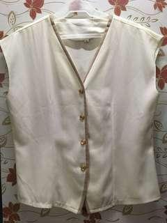Vintage White Top