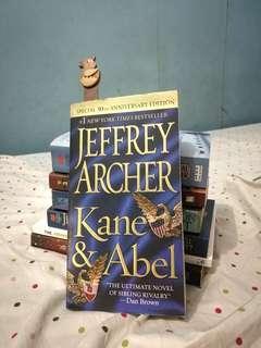 Kane & Abel (by Jeffrey Archer)
