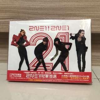 🚚 2NE1 冠軍首選 CD+DVD