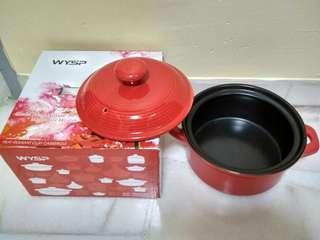 Red Colour Ceramic Bowl