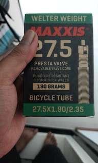 Maxxis inner tubes for 27.5 wheelset size