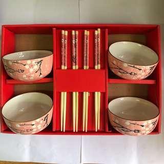 碗筷套裝 (連盒及手提袋)