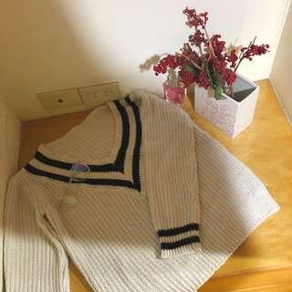 🚚 學院風針織毛衣