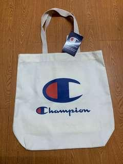 全新購自日本 Champion  Tote Bag