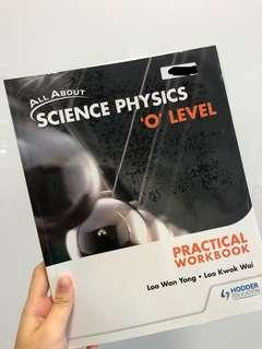 🚚 Science Physics O'Level Practical Workbook