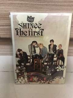 🚚 SHINee The First 日文專輯