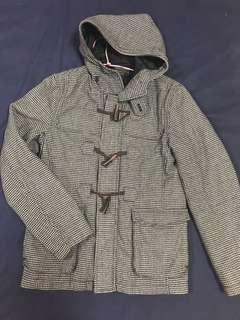 🚚 千鳥格大衣