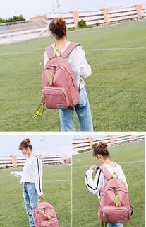 Pink backpack 二手背囊